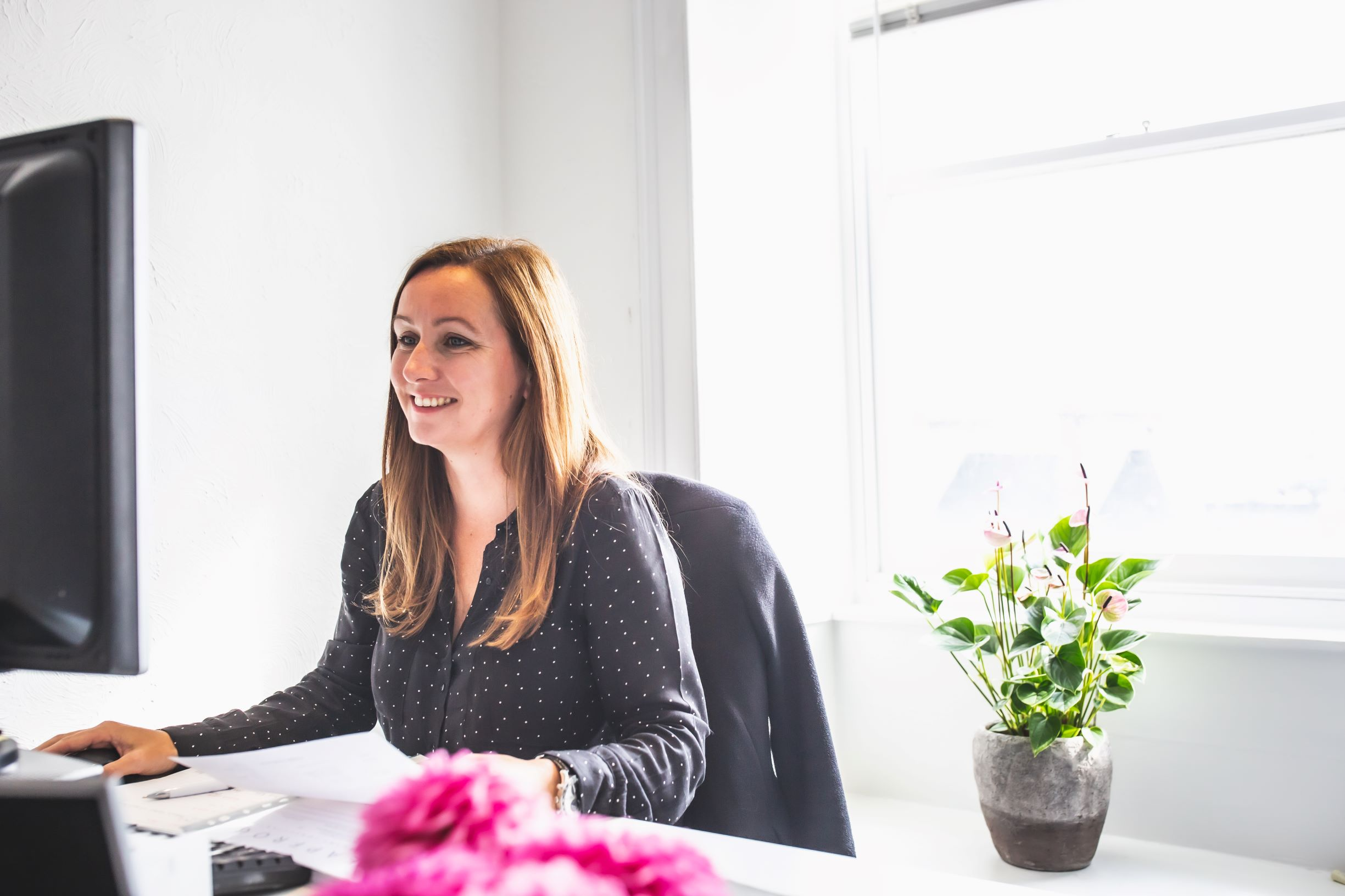 A day in the life- working from home: Laura